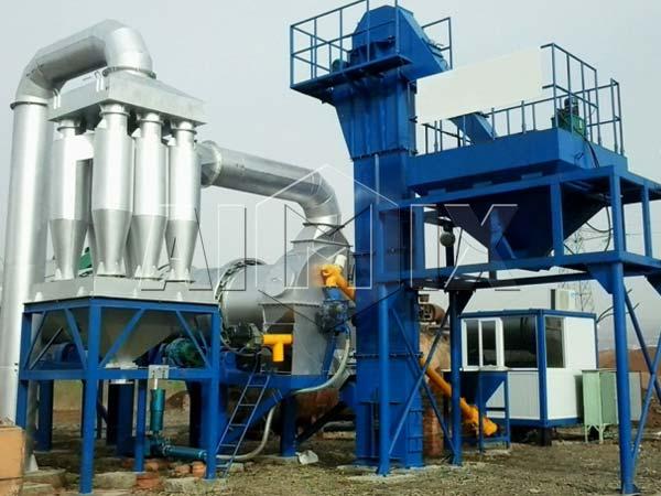 Простой асфальтовый завод продам в Узбекистане