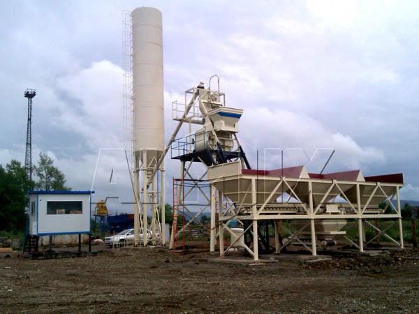 Купить станционарный бетонный завод