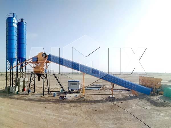 Купить мини бетонный завод в Узбекистан