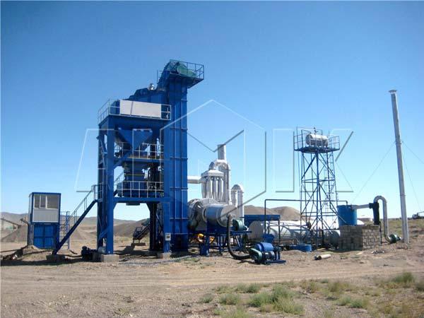 Принудительный асфальтобетонный завод купить в Узбекистане