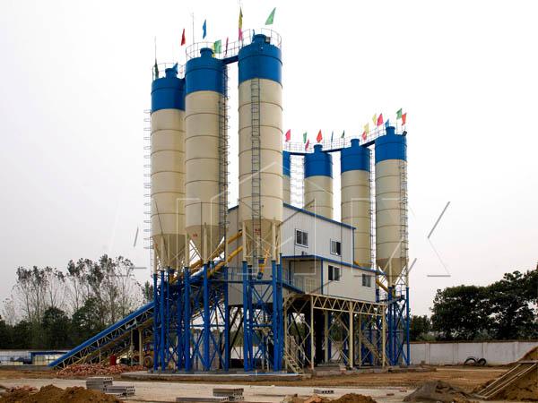 Купить стационарный бетонный завод