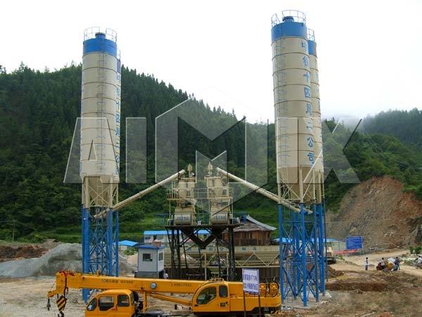 Продать стационарный бетонный завод из Китая