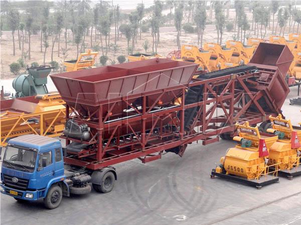 Заказать мобильный бетонный завод в Узбекистане