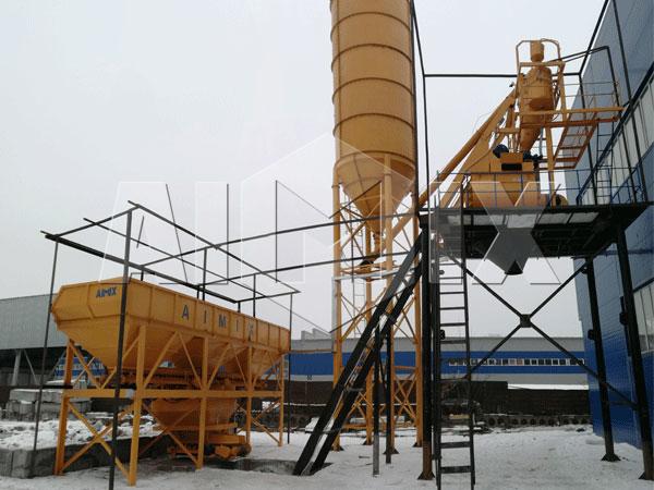 Купить бетоносмесительный завод из Китая
