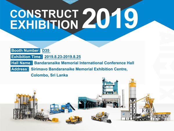Строительная выставка 2019 в Шри-Ланке