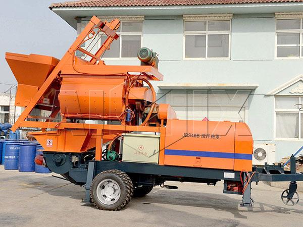 Продам бетономешалки с насосом из Китая