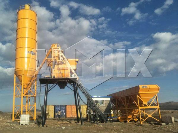 Купить бетоносмесительный мини завод цена