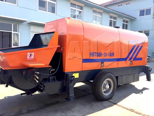 Заказать мини бетононасос цена из Китая