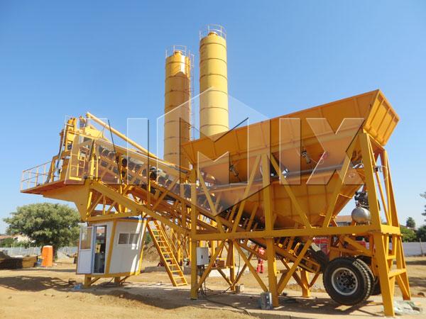 Продам мобильный мини бетонный завод цена
