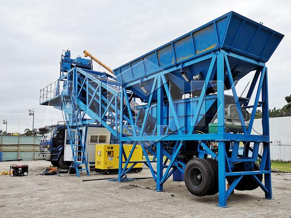 Купить мобильный мини бетонный завод цена