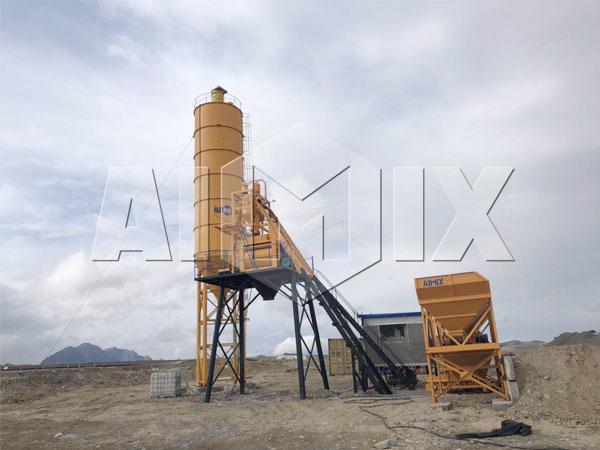 Купить стационарный бетонный завод Узбекистана