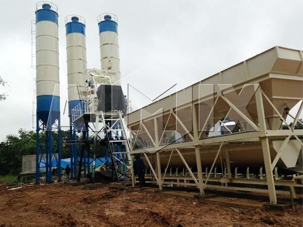Купить стационарный бетонный завод в Узбекистан