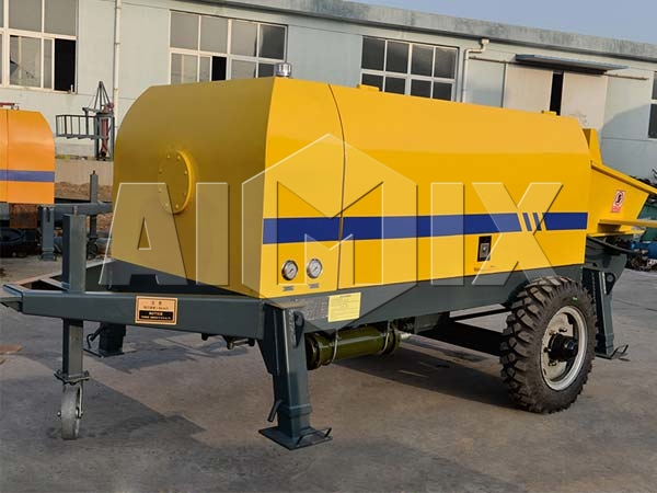 Купить стационарный бетононасос цена из Китая