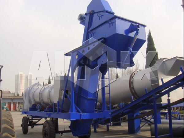 Передвижной асфальтовый завод купить из Китая