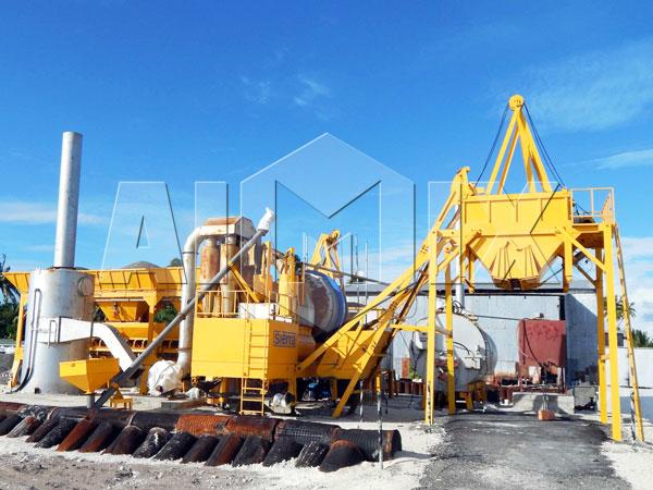 Заказать передвижной асфальтный завод цена из Китая