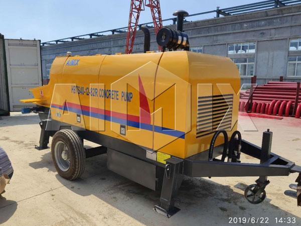 Купить дизельный бетононасос из Китая