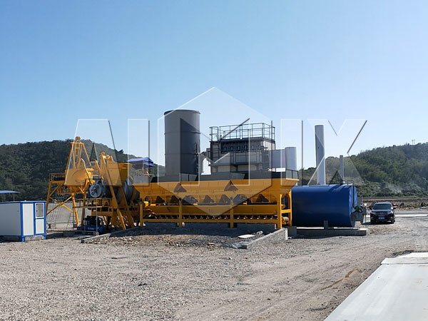 Купить мини асфальтобетонный завод из Китая