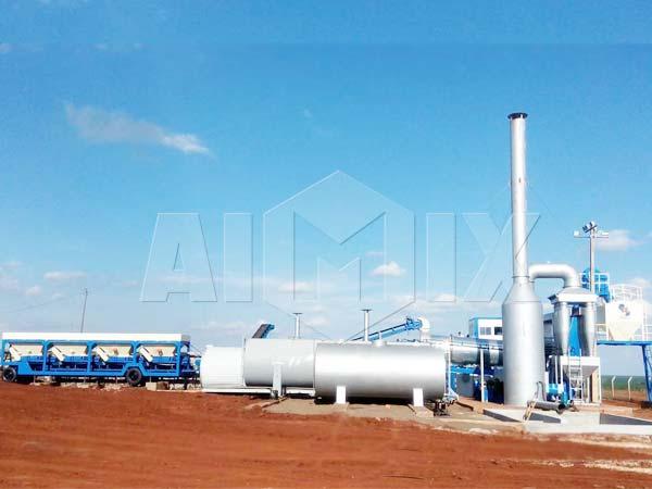 Мобильный мини асфальтный завод купить в Узбекистаге