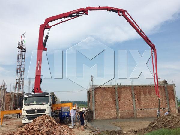 Купить мобильный бетононасос в Казахстан