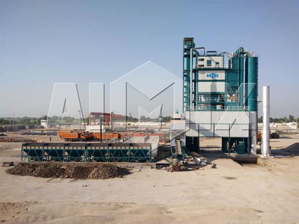 Поставили завод по производству асфальта в Пакистан