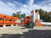 Установили асфальтобетонный завод в Филиппин