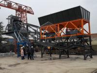 Купил мобильный асфальтобетонный завод в Узбекистане