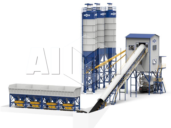 Купить бетонный завод 120 м3/ч
