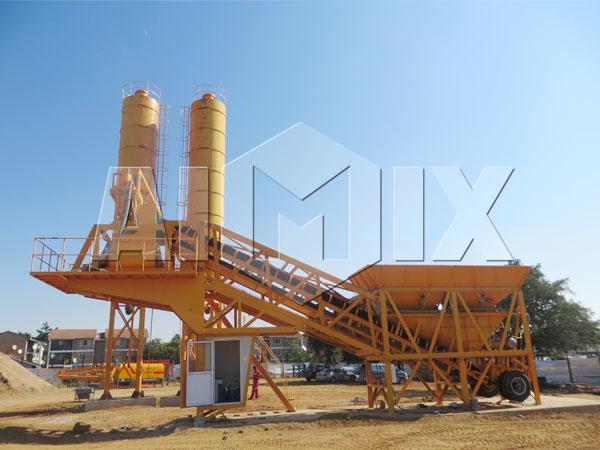 Купить передвижной бетонный завод в Узбекистане