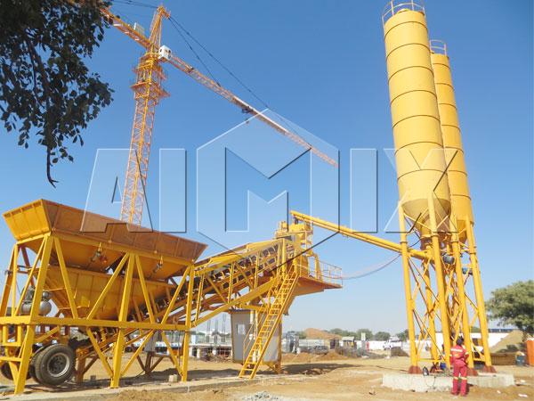 Купить передвижной завод бетонный в Казахстан