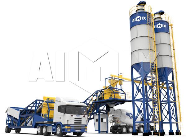 Продам передвижной бетонный завод
