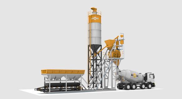 Купить бетонный завод в Узбекистан