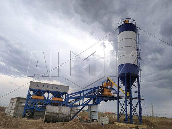 Купить мобильный бетонный завод в Узбекистане